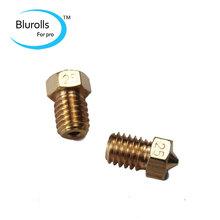 3D printer parts DIY Reprap brass E3D-V6 nozzle 0.25 mm1.75 mm filament hotend marked number 1.75*0.25mm