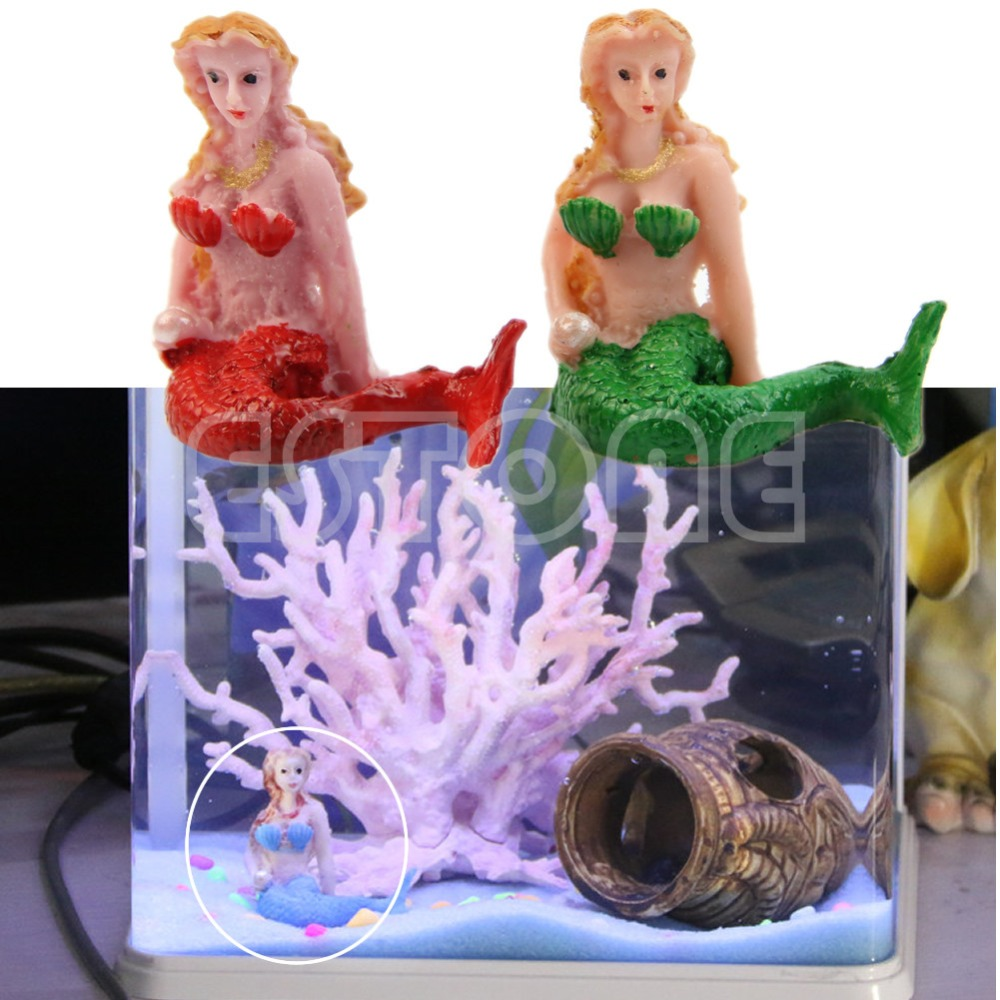 buy hot resin the little mermaid aquarium