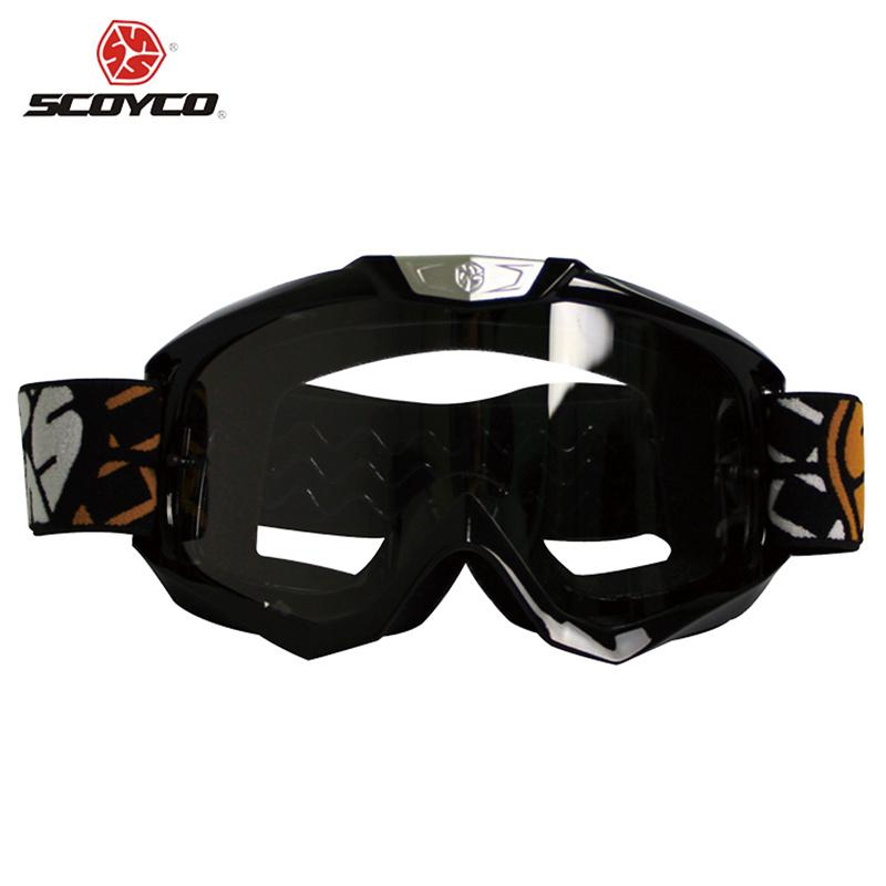 SCOYCO Motorcycle Riding Goggles Motocross Off-Road MX Dirt Bike Racing Eyewear Ski Snowboard Airsoft Paintball Game Glasses