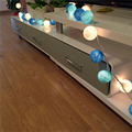 20Pcs/lot Christmas String light Garland Cotton Ball String light For Christmas Home Weeding Decoration Light