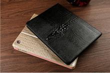 2015 New arrive leather case for ipad mini 3D tyrant gold crocodile slim tablet case for ipad mini 1 2 3(China (Mainland))