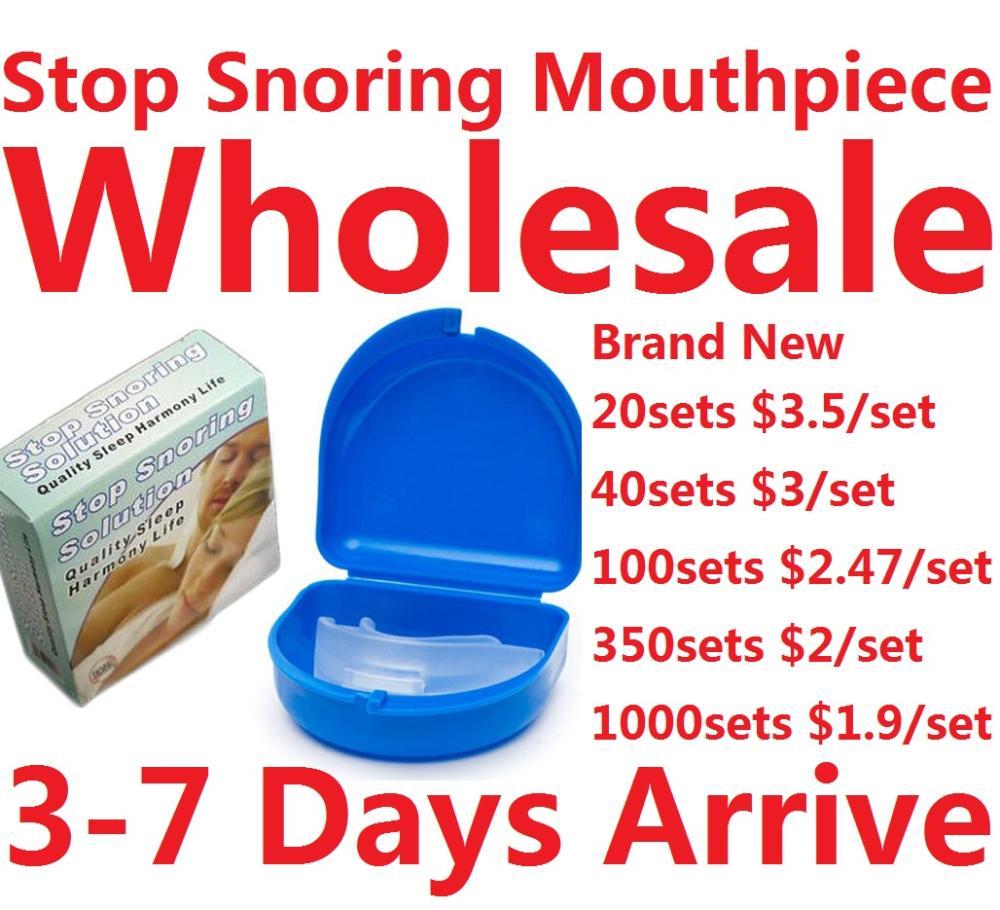 Аксессуары для сна Bling 1 20 Anti Snoring Mouth Tray silence anti snoring