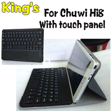 High Quaitly Wireless Bluetooth Keyboard Case For Chuwi Hi8,for chuwi hi8 Pro Tablet PC Brand Freeshipping+hot 4 gifts(China (Mainland))