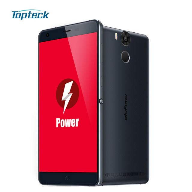 """Ulefone мощность 4 г 5.5 """" FHD 1080 P смартфон Android 5.1 Octa ядро MT6753 3 ГБ + 16 ГБ 13MP 6050 мАч OTG отпечатков пальцев ID мобильный телефон"""