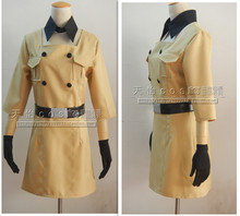 Hetalia: Axis Powers South Italy Romano Reversion Female Body COS Clothing Cosplay Costume with gloves