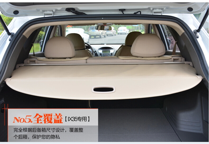 Highquality!Rear Trunk Security Shield Cargo Cover trunk shade security cover for Mitsubishi Pajero V73/V77/V79/V93/V97.Shipping