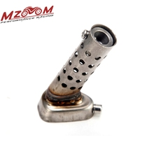 Mzoom -Muffler for Motorcycle Exhaust db Killer Muffler Adjustable Exhaust Silencer(China (Mainland))