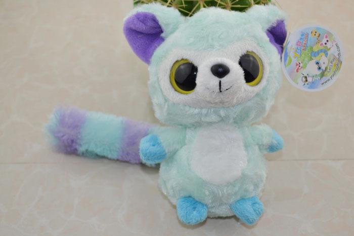 "Dolls for Outdoor fun & sports,2014 New Yoohoo&Friends Rare Animal Big Eye Cute Plush Toy Josee-8"",Fabrics Animal toys(China (Mainland))"