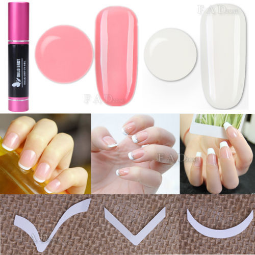 How to get gel french manicure off