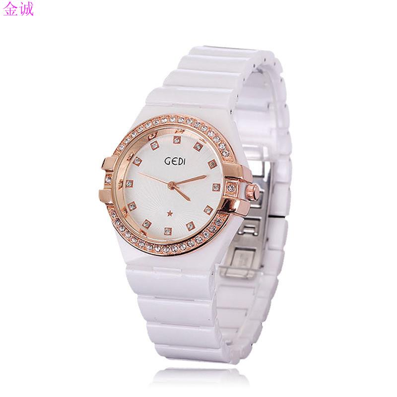 lover's New designer fashion luxury watch rose gold plated ...