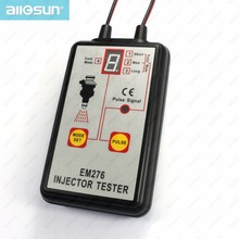 all-sun EM276 Professional Injector tester fuel injector 4 pluse modes tester powerful fuel system scan tool 100%guarantee(China (Mainland))