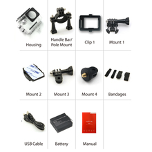 2015 Rushed Sale sport camera Accessories 1080p Hd Sports Camera Coplux 2 lcd Waterproof Action Video
