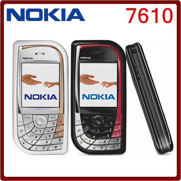 7610 Original Unlocked Nokia 7610 Bluetooth 1MP 900mAh GSM MP3 Player Mobile Phone Free Shipping(China (Mainland))