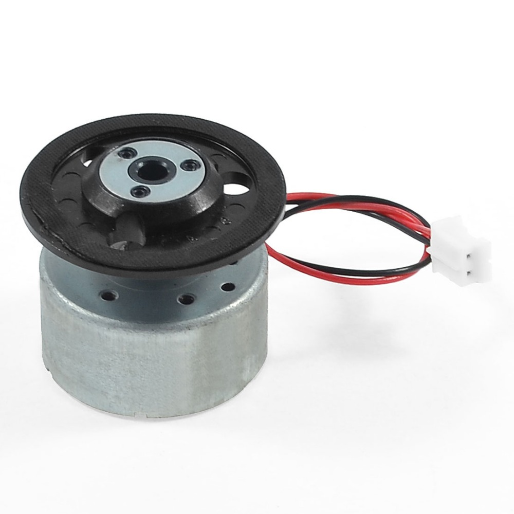 DC 9V 7500RPM Spindle Motor w Cable for VDC DVD CD Player 25mm x 12mm (D*H) Discount 50(China (Mainland))