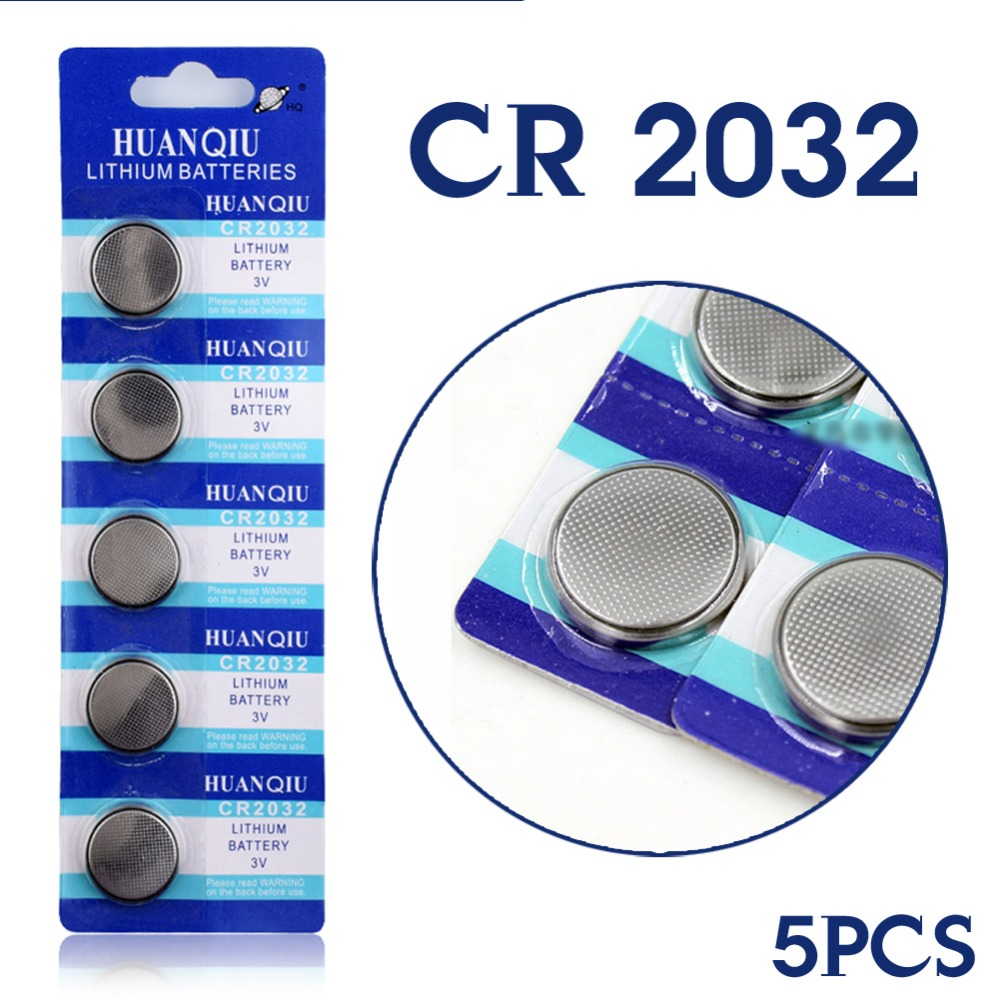 For watch Button battery 5004LC ECR2032 CR2032 DL2032 Watch Button Coin Cells Lithium Battery Main Board EE6227(China (Mainland))