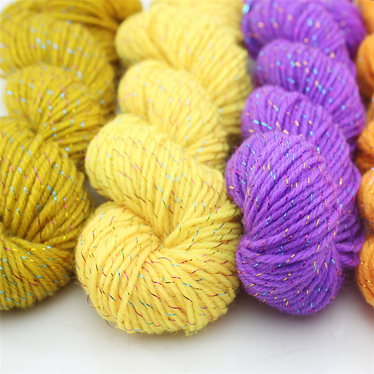 silk yarn for knitting Baby wool yarn for crochet Hand knitting yarn ...
