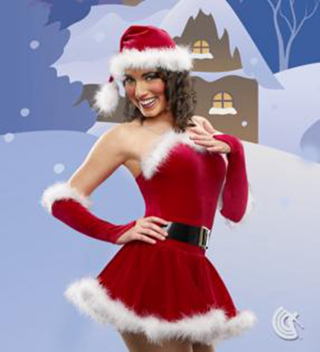 Фотография The new foreign trade Female Christmas performance clothing stage costumes dance clothes