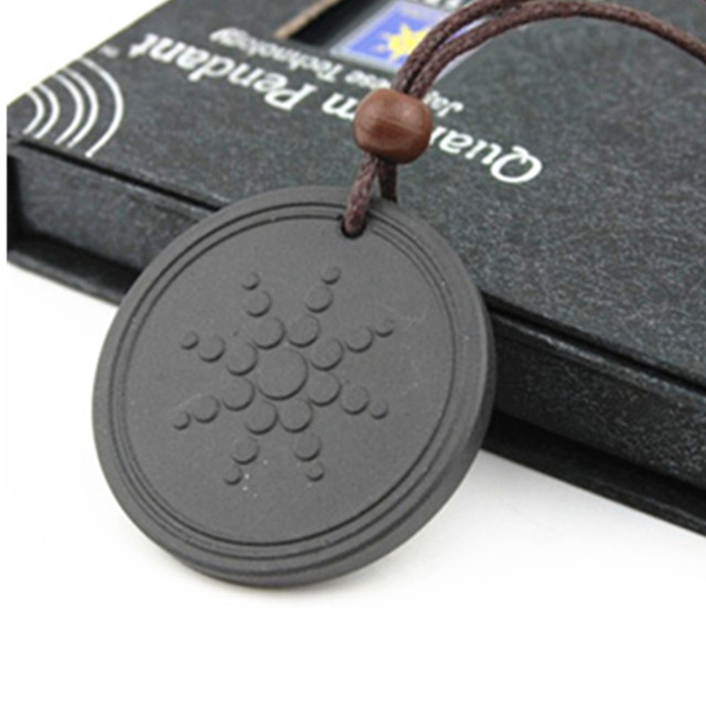 Classic Design Quantum Scalar Pendant with Nano Energy Lava Material + Product Registration Card, Free Shipping