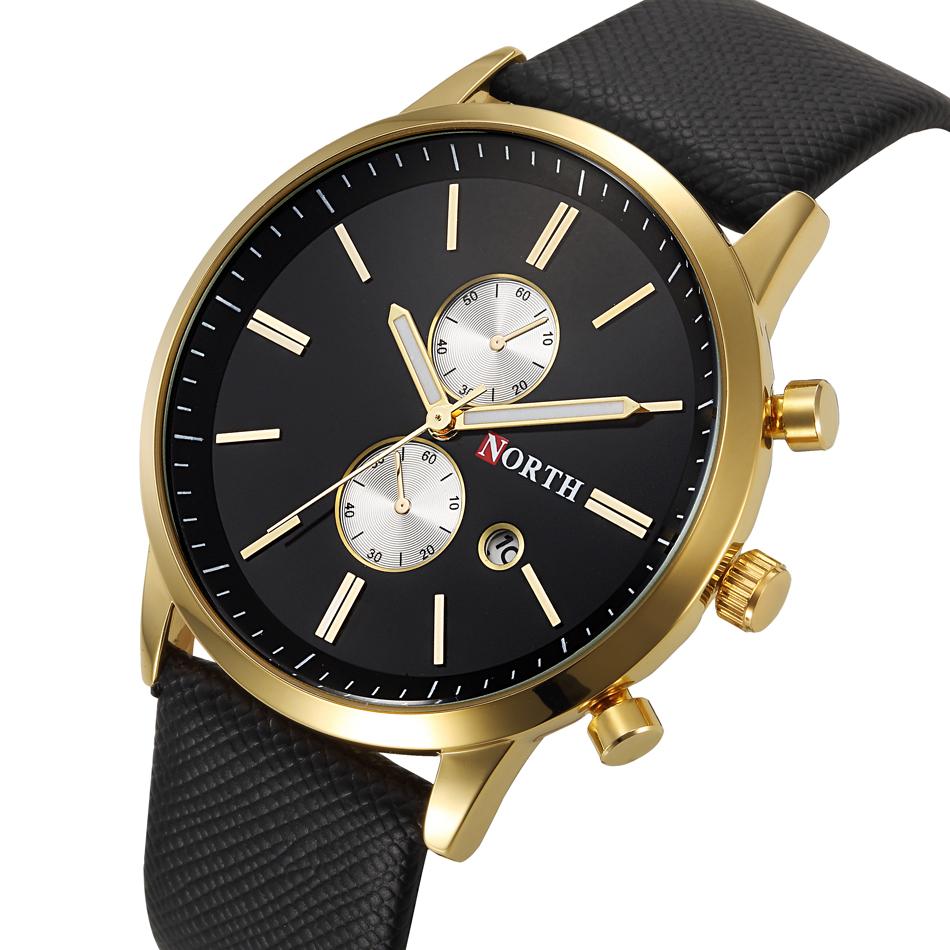 New Men Fashion Casual watch Famous Brand Quartz Watch Gold Wristwatch Date Display montre reloj relogio masculino(China (Mainland))