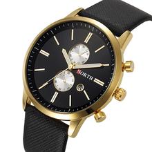 Nouveau Hommes Mode Casual montre Célèbre Marque Montre À Quartz Or Montre-Bracelet Affichage de la Date montre reloj relogio masculino(China (Mainland))