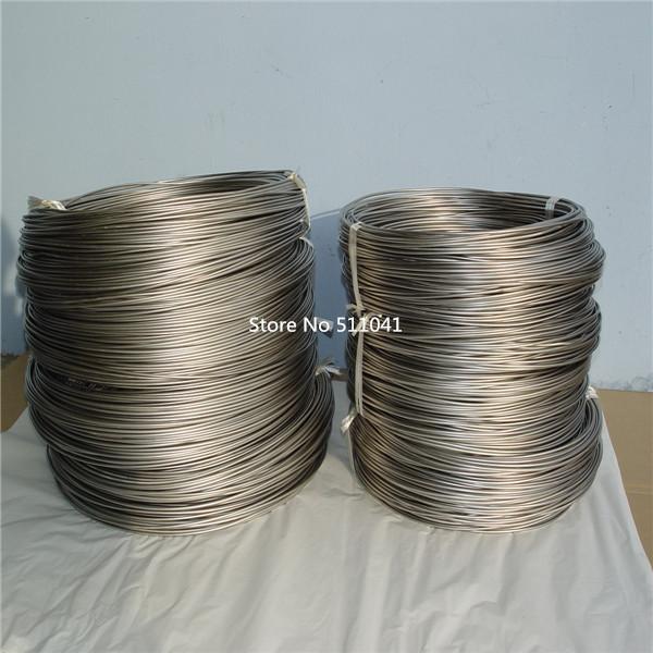 Ti titanium metal rod wire Gr5 Titanium Grade 5 (Ti6Al4V) Wire coil Dia 4.0mm  Paypal is available<br><br>Aliexpress