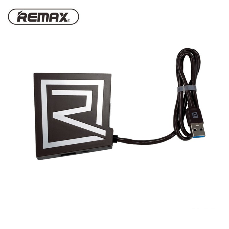 Original REMAX RU-U7 5V 1.5A 3.0 Multi 3 Ports USB HUB Card Reader Multi Color 600mm For Laptop Computer For Mobile Phone(China (Mainland))