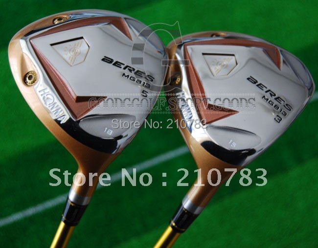 Здесь можно купить  2012 New Honma Beres MG 813#3/#5/Fairway Woods 2pcStiff/shaft Golf Clubs With head covers.Free shipping, 2012 New Honma Beres MG 813#3/#5/Fairway Woods 2pcStiff/shaft Golf Clubs With head covers.Free shipping, Спорт и развлечения