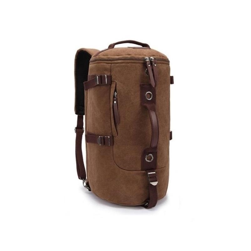 Mens Vintage Cotton Canvas Travel Backpack Sport Outdoor Rucksack School bag Male Satchel Hiking bag<br><br>Aliexpress