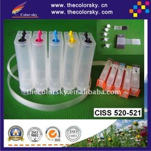 (CISS-C520) CISS ink tank continuous ink supply system for Canon PGI520 CLI521 520 521 MP540 MP620 MP630 IP3600 IP4600