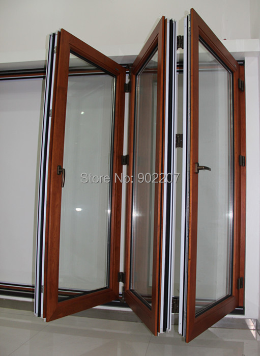 high quality for villas wood clad aluminum doors(China (Mainland))