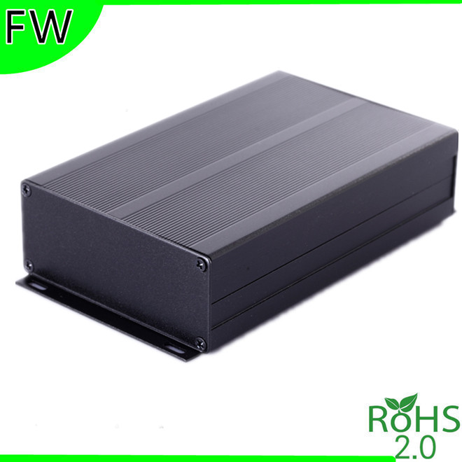 Aluminum motor controller box aluminum housing instrument PCB boxes enclosure with wall mount 97*40*150mm(China (Mainland))