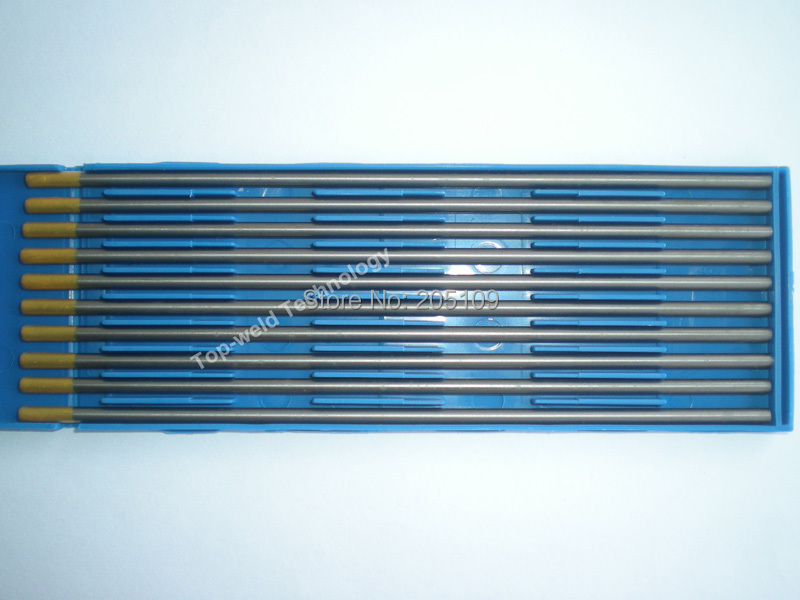 "Tiges de tungstène 3.2 * 150 mm 1 / 8 x 6 "" WL15 Lanthanated tungstène électrode pour le soudage TIG torche ACDC TIG PULSE TIG machine de soudage(China (Mainland))"