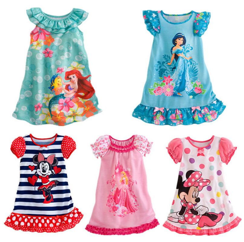 Kids Girls Baby Toddler Clothes Princess Party Costume Dress(China (Mainland))