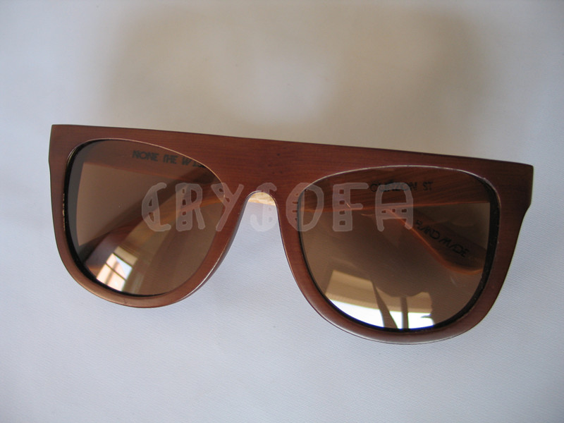 2015 new arrival new style All wood pure wood log wooden solid hand for handmade sunglasses(China (Mainland))