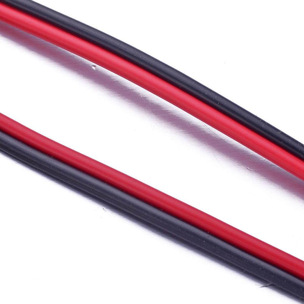 Новый Твин Hook Up красный/черный 12 В DC AWG автомобиля домашняя аудиоколонка провода aeProduct.getSubject()