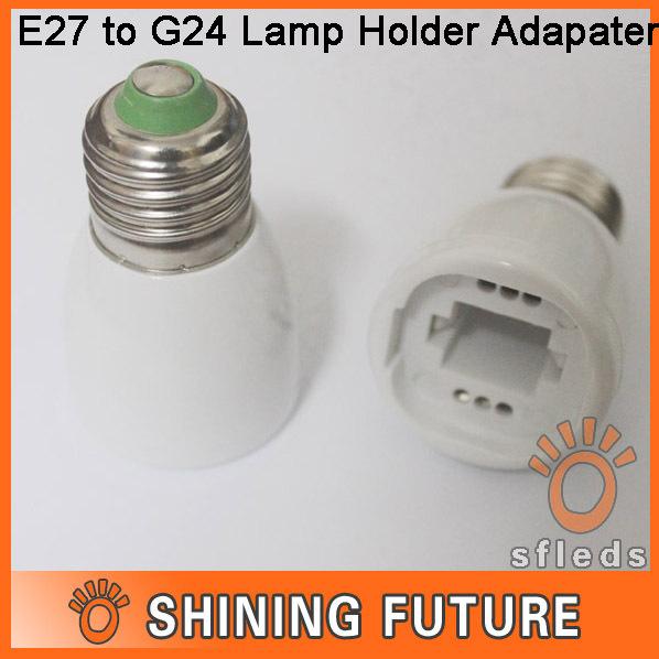 Цоколь лампы Sfleds E27 G24 , 10pcs/lot sfleds-LB-090309