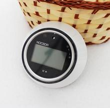 2016 Hot Worldwide New1pcs LCD Digital Kitchen Timer Portable Round Magnetic Countdown Alarm Clock Timer Kitchen Tool SJQ534(China (Mainland))
