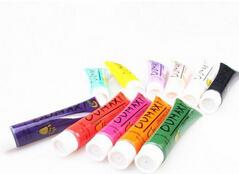 1set/lot Plastic 3D Nail Art Gel 12 Mixed Colors Draw Painting UV Gel Wholesale Price Nail Decorations ej600275