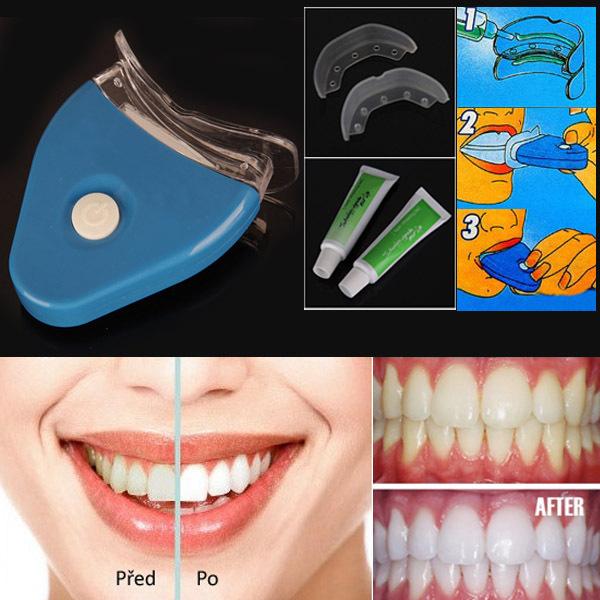 Original Teeth Whitening gel with lamp for white teeth & bleaching clareador dental