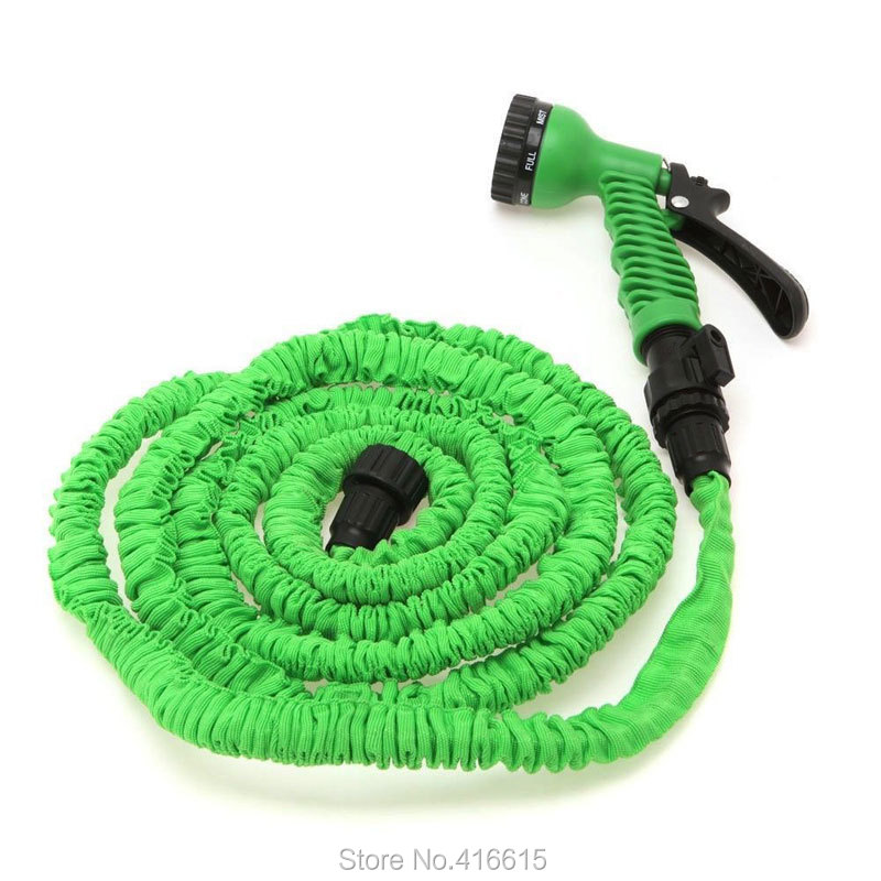 Retractable expandable the magic magic water watering garden hose 100ft 100 100 ft with Expandable garden hose 100 ft