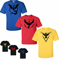 2016 Pokemon Go Printing T Shirt O neck Gym Fitness Men s T shirt Casual Slim