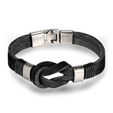2018 новые модные популярные турецкие браслеты с крыльями для мужчин высококачественные кожаные браслеты популярные браслеты с брелоками(China)