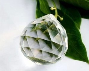 50pcs/lot crystal faced balls prism ball for wedding&amp;ball chandelier garland strand hanging drops free shipping<br>