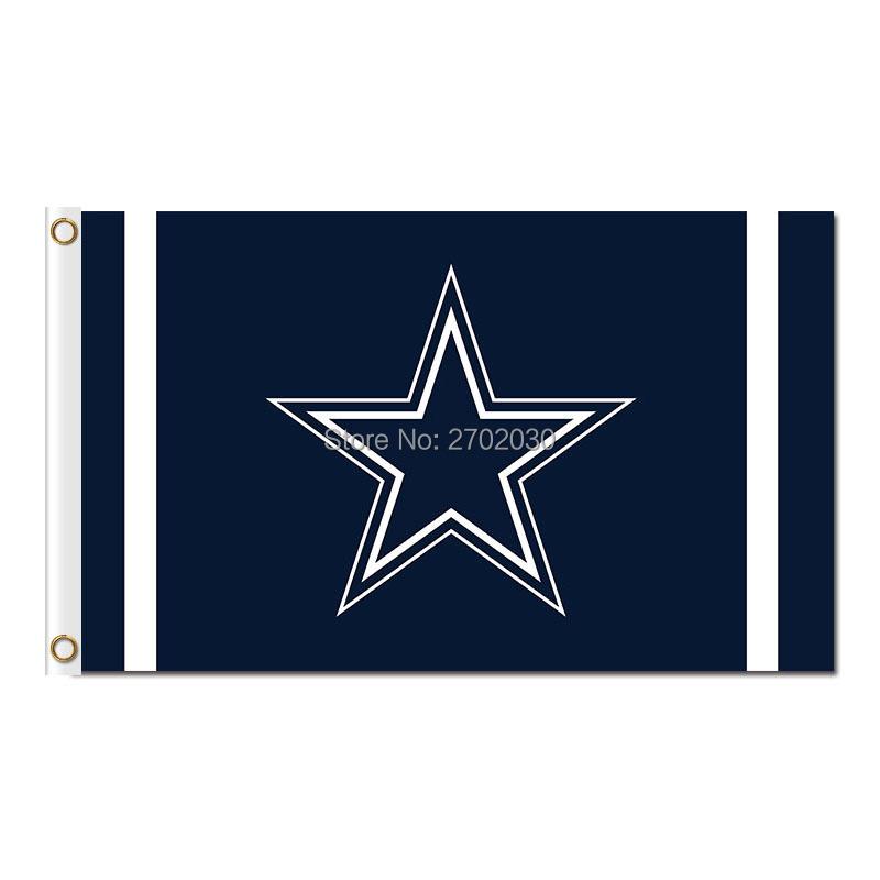 Dallas Cowboys Flag Star World Series 2016 3ft X 5ft Premium Banner Team Dallas Cowboys Jersey Flag Football Sport Cowboy(China (Mainland))