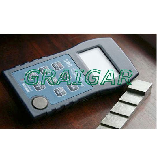 digital ultrasonic thickness meter SW6 Material Velocity Range 509~18699m/s<br><br>Aliexpress
