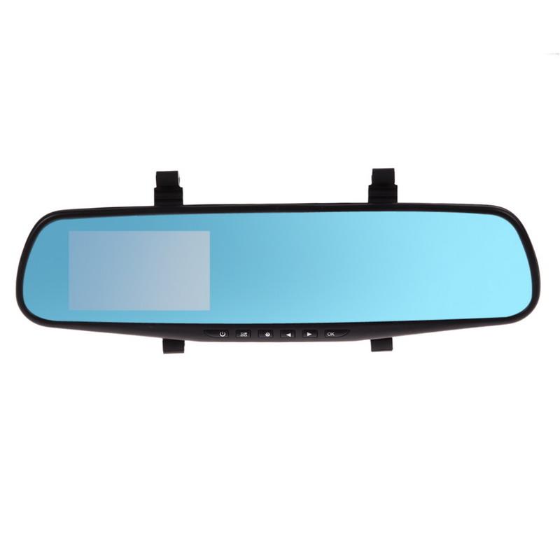 R1B1 170 Degree Full HD 1080P 4.3 Video Recorder Dash Cam Rearview Mirror  Free Shipping<br><br>Aliexpress