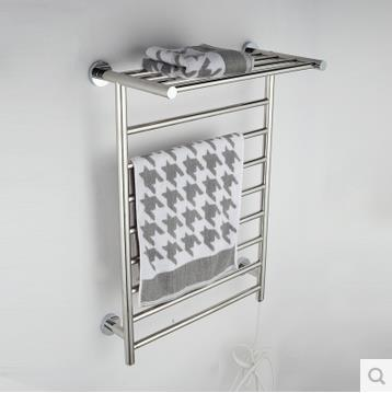 Heated Towel Racks For Bathrooms bathroom shelf with towel rail   mobroi. Prepossessing 80  Heated Towel Racks For Bathrooms Inspiration Of