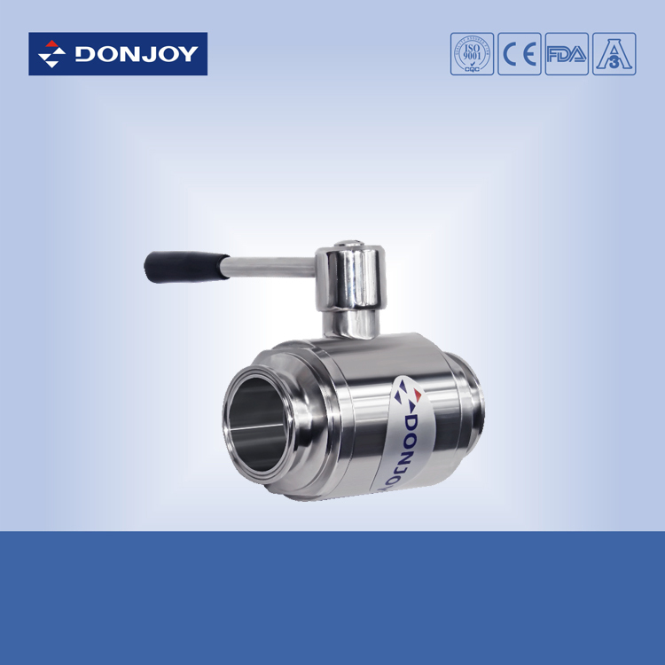 4 inch SS304 Stainlesss steel ball valve, Sanitary 2-way valve - Donjoy Online Store store