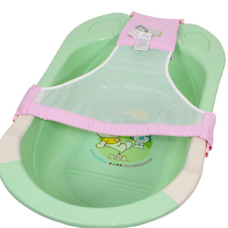 Baby Kid Bath Net Bed Soft Slip-Resistant Mesh Shower Plate Random Colors(China (Mainland))