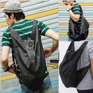 2013 man bag handbag shoulder bag messenger bag backpack bag PU male backpack